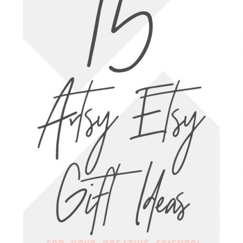 An Artsy Etsy Gift Guide